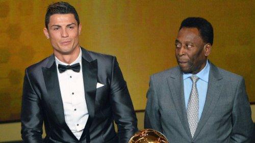 Pele congratulates Cristiano Ronaldo for breaking his goals record