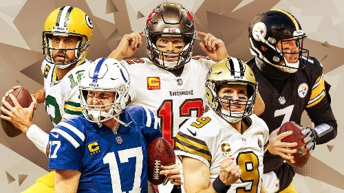 Ten rings, 107 playoff starts, one stage: Which 'old guy' QB has best shot at Super Bowl?