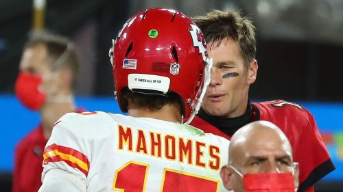 Patrick Mahomes: Visit from Tom Brady 'showed I was doing things the right way'