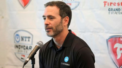 Jimmie Johnson on slow but steady IndyCar practice: 'What a rush'