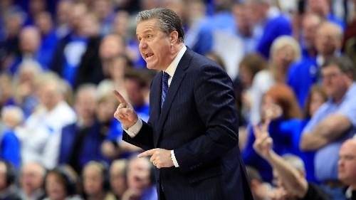 Kentucky coach John Calipari won't play this season's basketball game against Louisville at neutral site