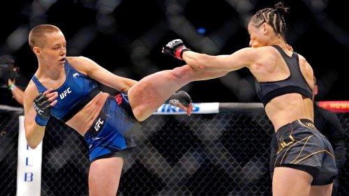 'I did it again:' Namajunas KOs Weili via head kick