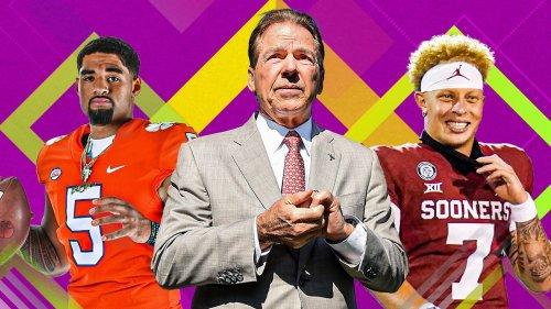 College football preseason power rankings: Alabama -- who else? -- starts at No. 1