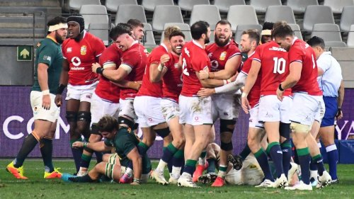 Lions mount comeback to beat SA in 1st test