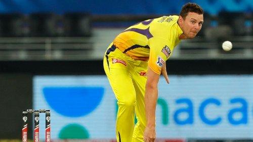 Chennai Super Kings fast bowler Josh Hazlewood withdraws from IPL 2021