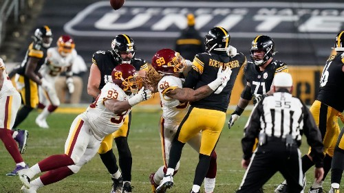 Pittsburgh Steelers no longer undefeated after blowing 14-point lead to Washington Football Team