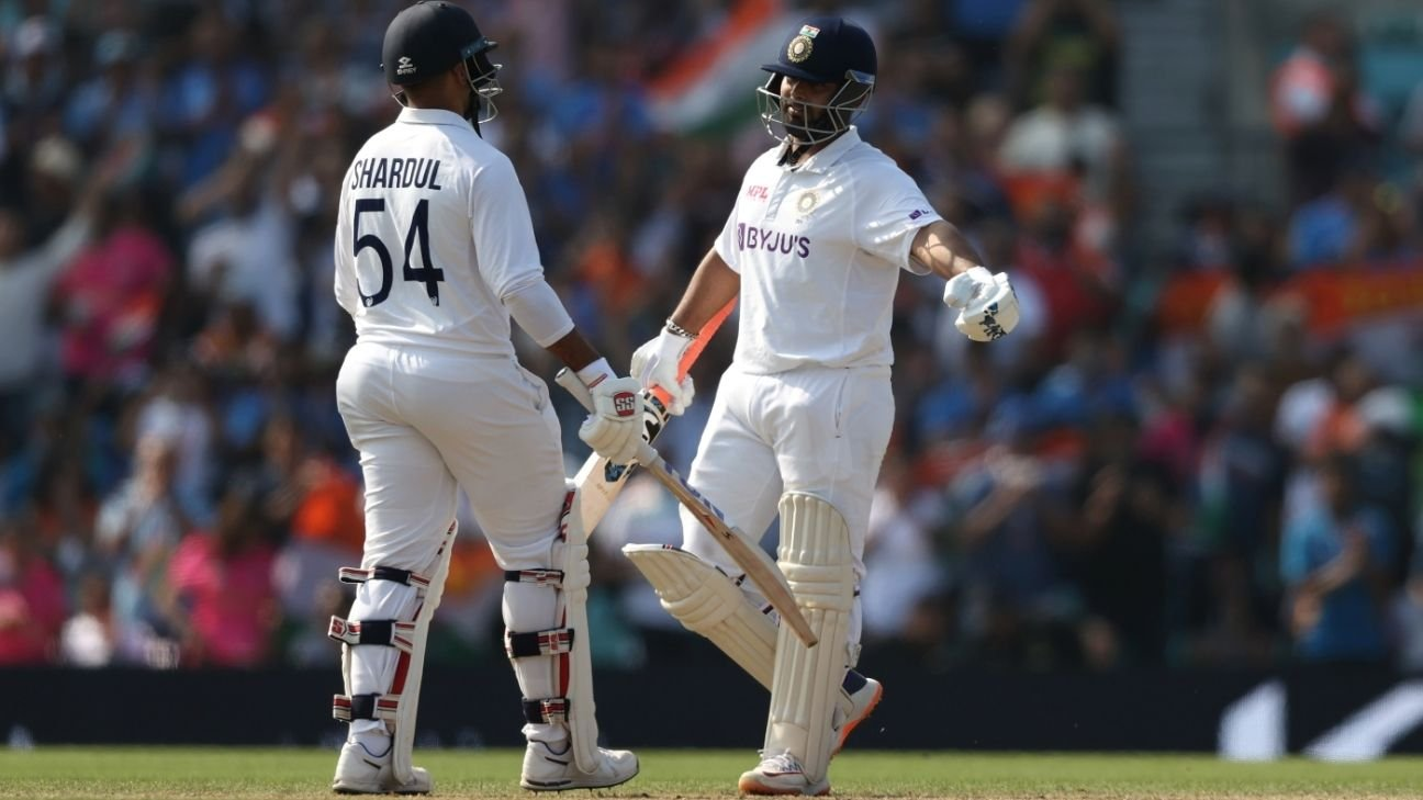 A rare second innings marathon in Tests by India