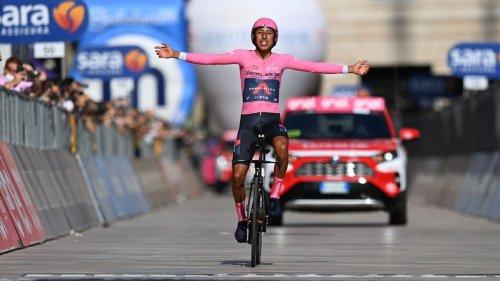 Colombian cyclist Bernal wins Giro d'Italia title