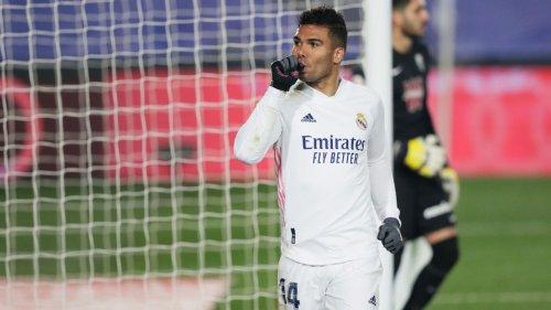 Casemiro, Asensio 8/10 as Madrid stay level atop La Liga