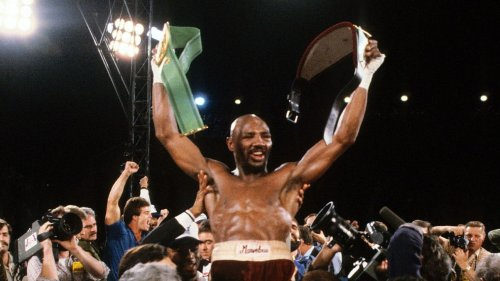 Marvelous Marvin Hagler won boxing's greatest prize -- by walking away