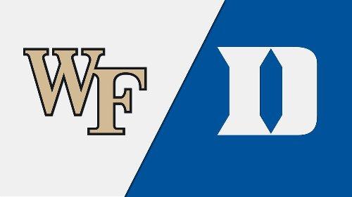 Wake Forest vs. Duke (Baseball) | Watch ESPN