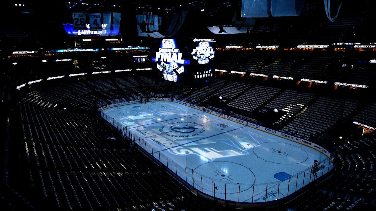 Rink ice from Tampa Bay Lightning's Amalie Arena used in limited-edition beer