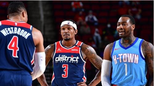 Westbrook, Wall trade trash talk, get double technical - ESPN Video