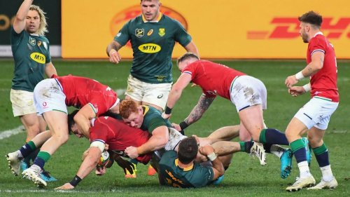 South Africa beef up attack for British Irish Lions test