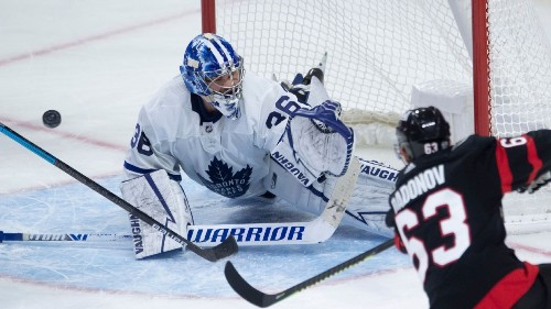 Toronto Maple Leafs goalie Jack Campbell out 'weeks' with leg injury