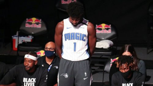 Orlando's Jonathan Isaac first in NBA bubble to stand during anthem