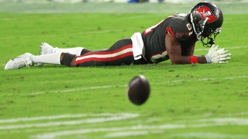 Tampa Bay Buccaneers WR Antonio Brown ruled out for NFC title game vs. Green Bay Packers