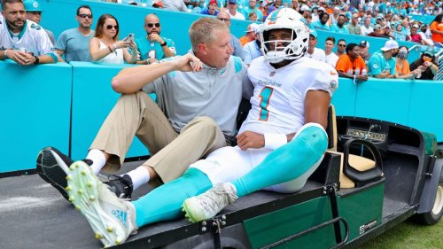 Miami Dolphins QB Tua Tagovailoa placed on injured reserve with fractured ribs