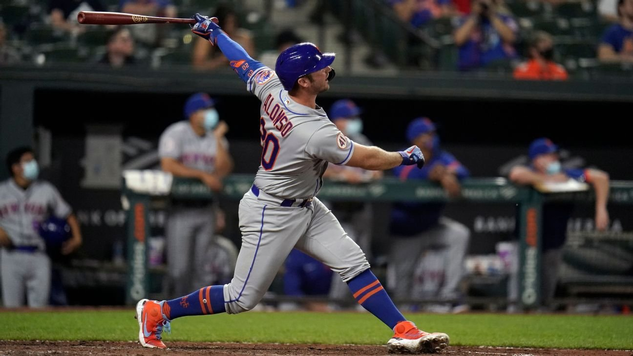 Mets' Pete Alonso posits that MLB 'manipulates the baseball' based on free-agent class