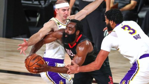 NBA playoffs: How the Lakers are messing with the NBA's best one-on-one superstar