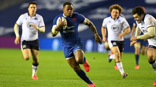 Rampaging Vakatawa powers France past Scotland