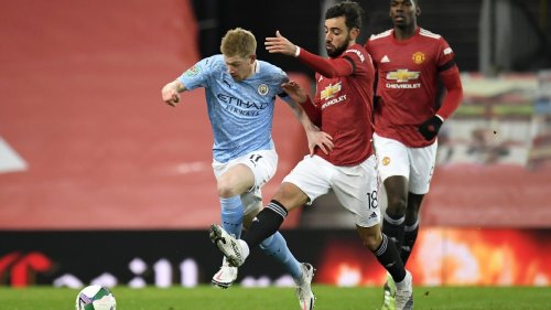 De Bruyne, Fernandes headline a Man City-dominated Manchester combined XI
