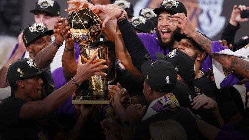 LeBron James and the Lakers fought heartbreak to win the NBA Finals