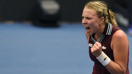 Kontaveit defeats Sakkari 6-2, 7-5 at Ostrava Open final