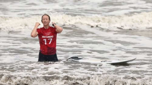 South Africa's Bianca Buitendag claims historic surfing silver medal