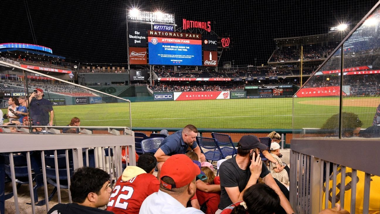 San Diego Padres, Washington Nationals recall harrowing scene day after shots fired outside park