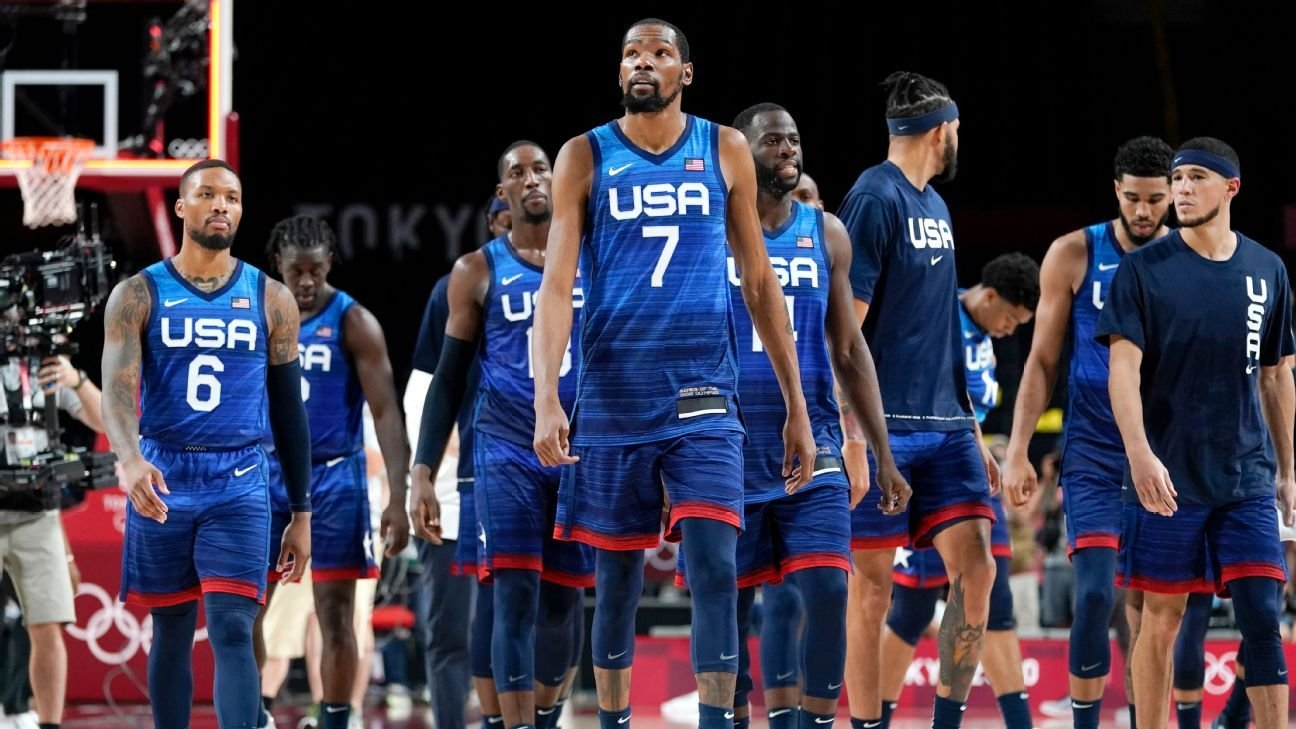 Kevin Durant and Team USA lose to France, Simone Biles is on to the finals, plus other Olympic updates