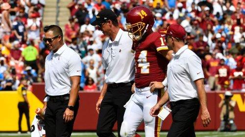Washington Football Team QB Ryan Fitzpatrick to undergo MRI on injured hip in two weeks