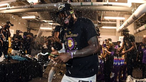 NBA Finals: The scenes of a Lakers title celebration like no other