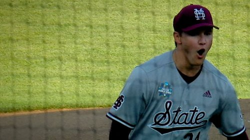 Will Bednar strikes out 15 in dominant outing for Miss. St. - ESPN Video