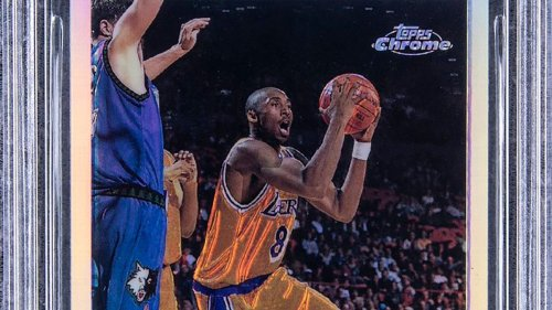 Kobe Bryant rookie card, in 'pristine condition,' sells for nearly $1.8 million at auction