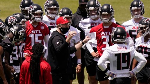 Falcons rookie minicamp proves a starting point for Arthur Smith and his players