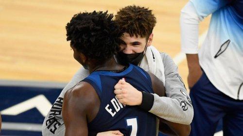 Ball, Edwards headline NBA All-Rookie teams