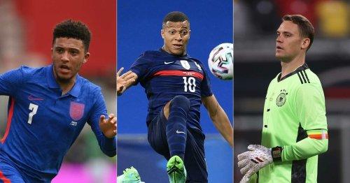 Fußball-Europameisterschaft 2021: Das sind die absoluten Favoriten im Check