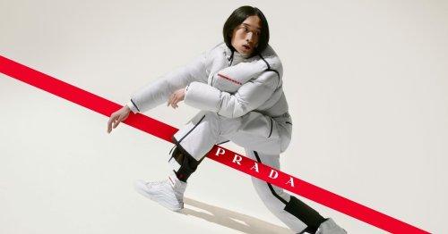 Modetrends von Prada: Die neue Linea Rossa Kollektion für Männer