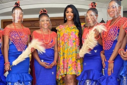 Porsha Williams And Her Fiancé Traveled to His Hometown In Nigeria And Received A Royal Welcome