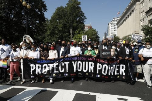 Thousands Join Voting Rights Marches, Rallies in DC and Nationwide