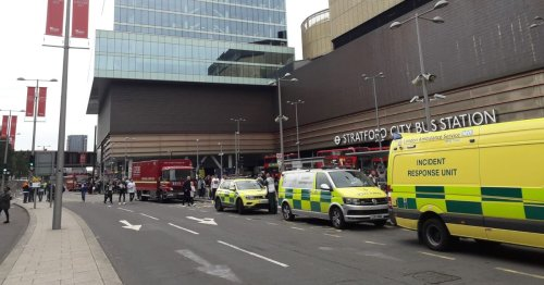 Westfield shopping centre evacuated as 60 firefighers tackle blaze