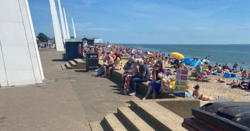Mass brawl breaks out on Essex seafront after girl attacked