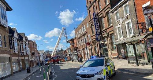 Updates as police shut Essex town centre over 'dangerous building'