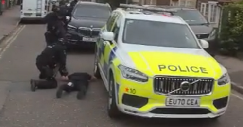 Armed police and dog units close off Essex road after incident