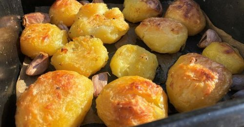 We tried Jamie Oliver's 'best roast potato' recipe and it blew our mind