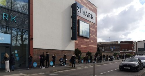 Huge queues form outside Essex Primark and hairdressers as lockdown eases