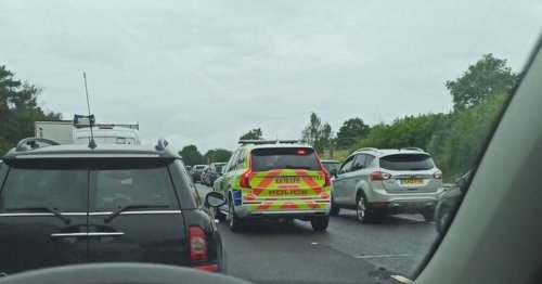 A12 crash: Man dies and two people arrested as road shuts for hours