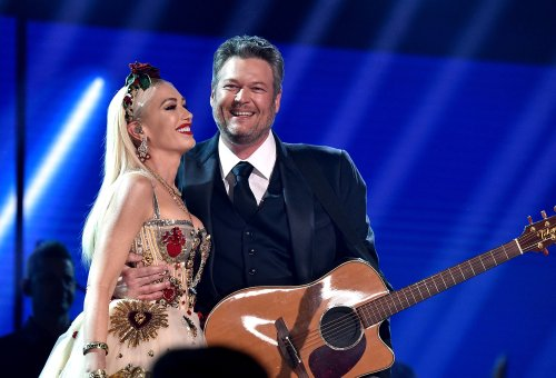 Blake Shelton Details Writing Process For That Romantic Song He Wrote For Gwen Stefani On Their Wedding Day