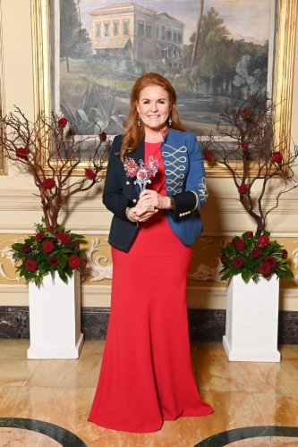 Sarah Ferguson Stuns At Red Cross Event In Rome